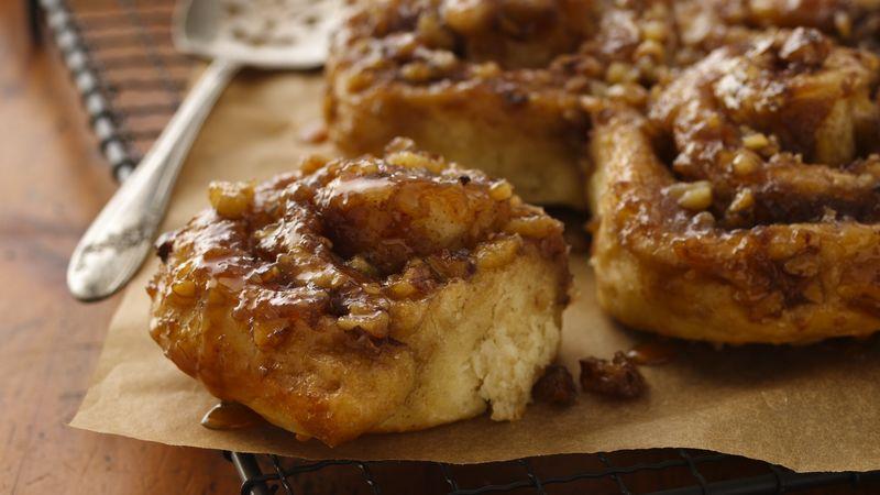 Overnight Caramel Apple Rolls