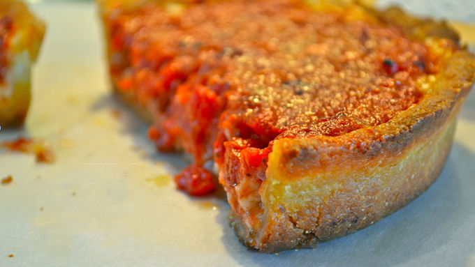 Gluten-Free Deep Dish Chicago Style Pizza