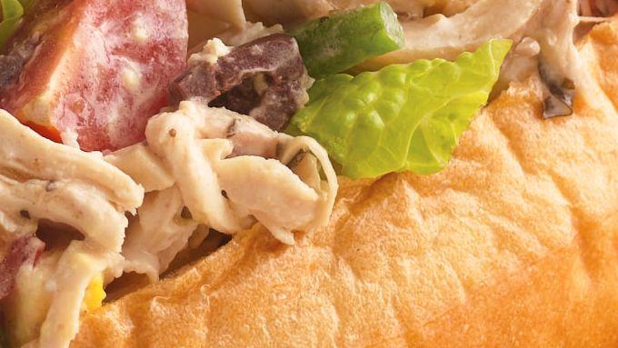 Chicken Niçoise Salad Sandwiches