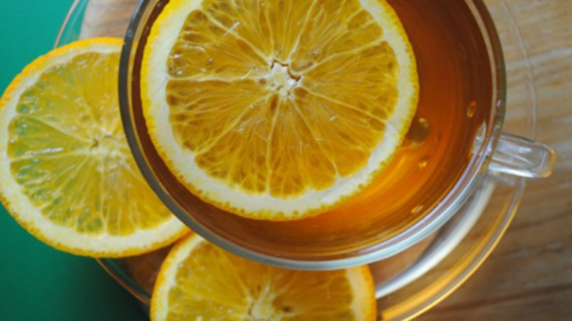 Relaxing Citrus Tea