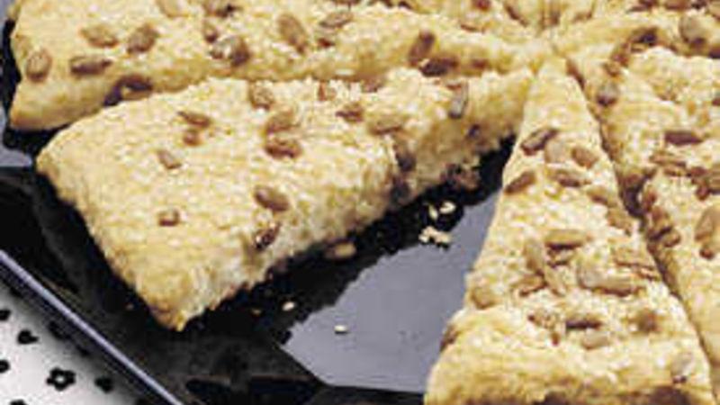Sesame Biscuit Wedges