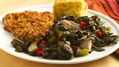 Collard Greens and Smoked Turkey