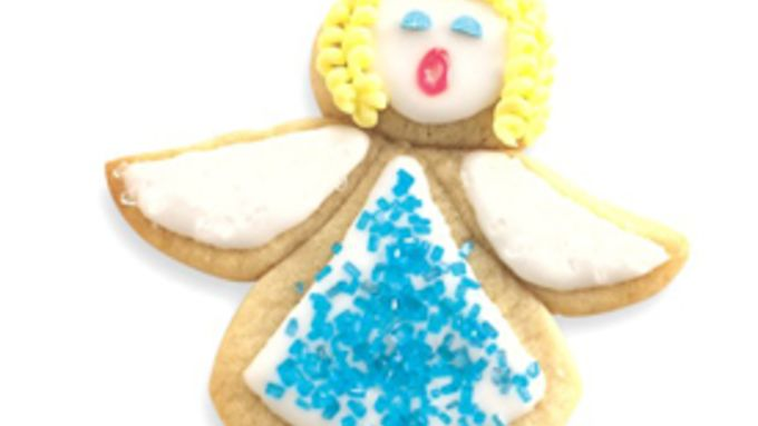 Holiday Angel Sugar Cookies