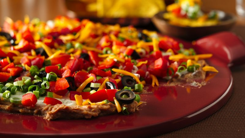 Layered Ranch Taco Dip