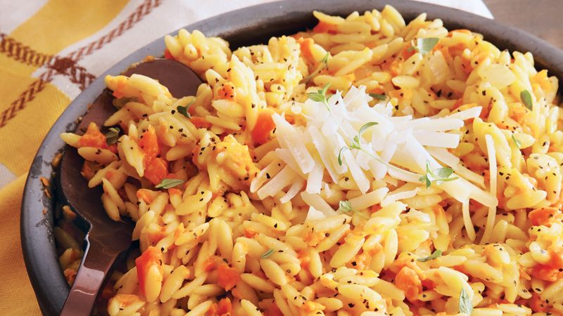 Carrot Orzo