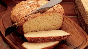 Swiss Cheese Soufflé Bread
