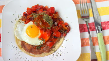 Huevos Rancheros Light