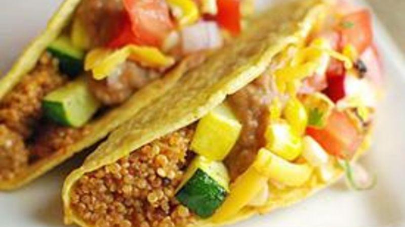 Summer Veggie and Quinoa Tacos