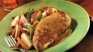 Home-Style Chicken and Gravy