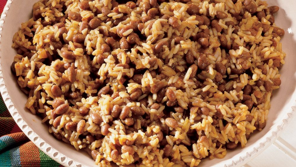 Sweet & Spicy Beans and Rice