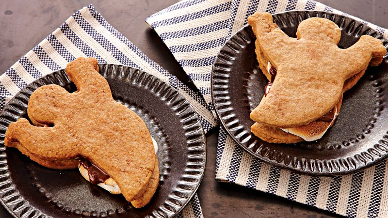 Halloween Ghost S'mores
