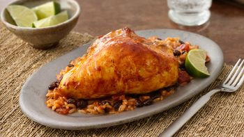 Salsa Chicken and Rice Casserole