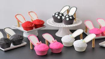Stiletto Cupcakes
