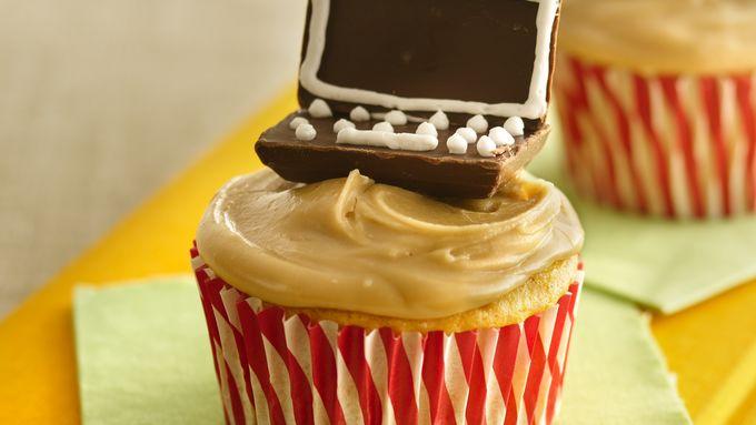 School Days Applesauce Cupcakes
