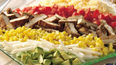 Southwestern Chicken Cobb Salad