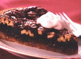 Cocoa Pecan Pie