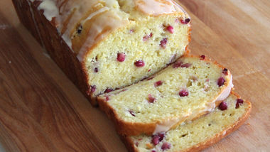 Pomegranate Orange Bread