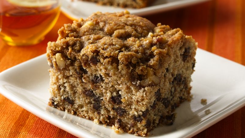 Chocolate Chip Streusel Cake