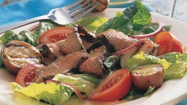 Grilled Steak and Potato Salad
