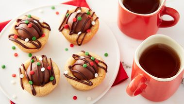 Lindt™ Truffle Sugar Cookie Cups