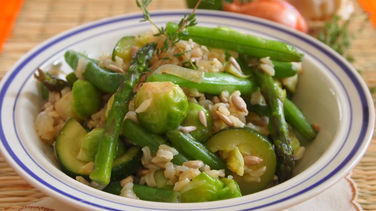Arroz Jardinero Vegetariano