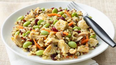 Chicken Curry Grain Salad