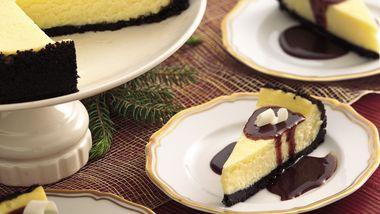 New York White Chocolate Cheesecake