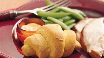 Pumpkin Dinner Crescents