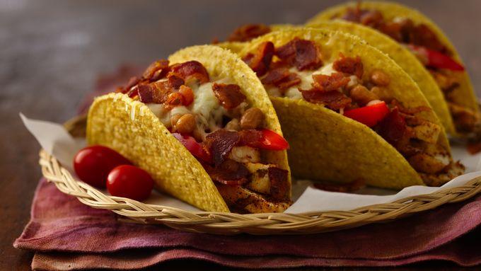 Wild West Sizzlin' Chicken Tacos