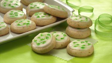 Galletas Festivas de Limón Verde (Cantidad para intercambio de galletas)