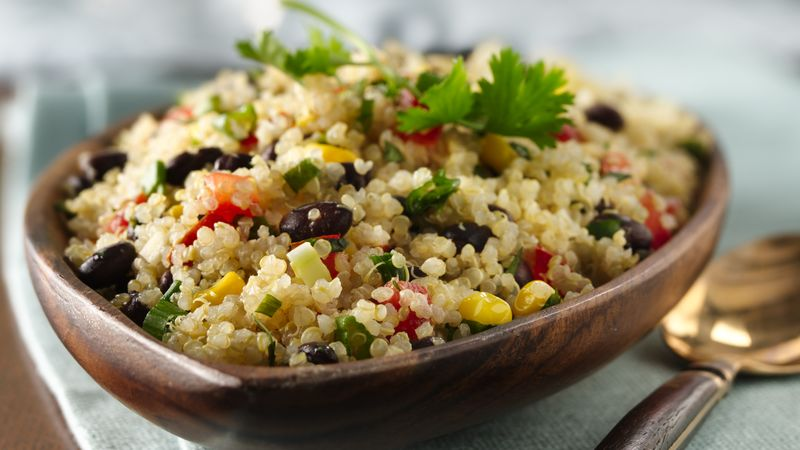 Gluten-Free Quinoa with Black Beans