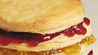 Jammin´ Biscuit Sandwich
