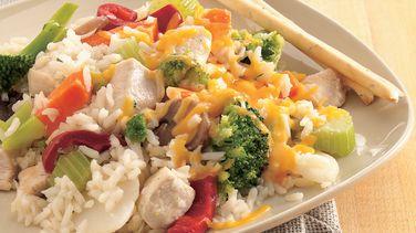 Chicken-Rice Skillet