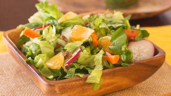 Chopped Salad with Lime-Cilantro Vinaigrette