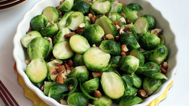 Brussels Sprouts with Bacon and Nuts