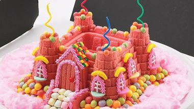 Princess Castle Bundt Cake