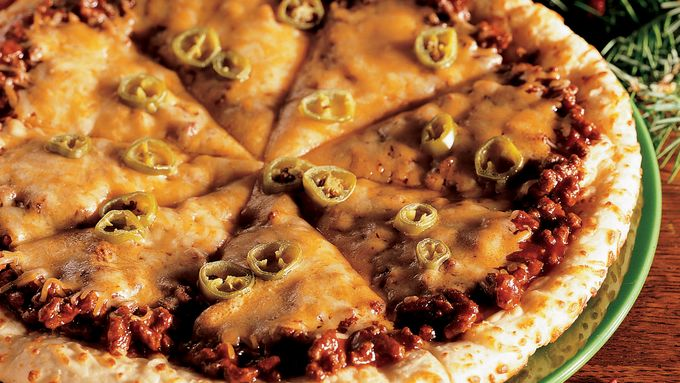 Spicy Barbecue Pizza