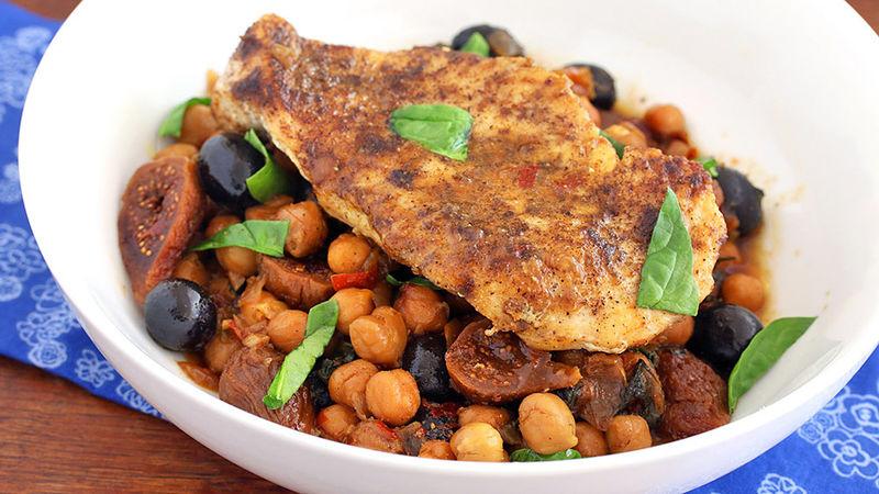 One-Pot Moroccan Chicken