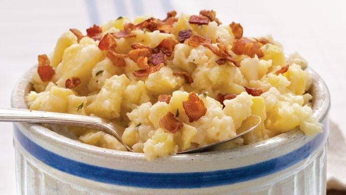 Apple Turnip Mashed Potatoes recipe - from Tablespoon!
