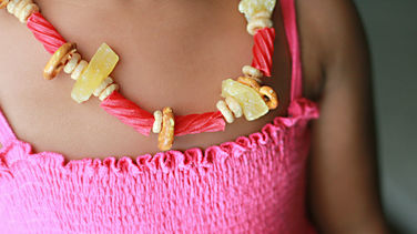 After-School Snack Necklace
