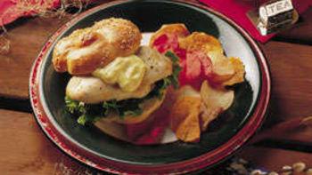 Curry Chicken Sandwiches