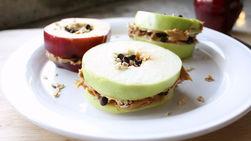Sándwiches de Manzana