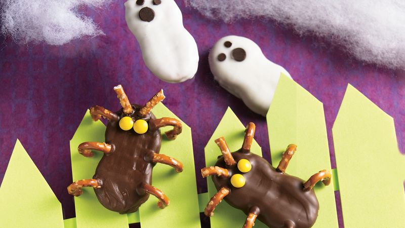 Frightfully Easy Ghosts and Cutie Bugs recipe from Betty Crocker