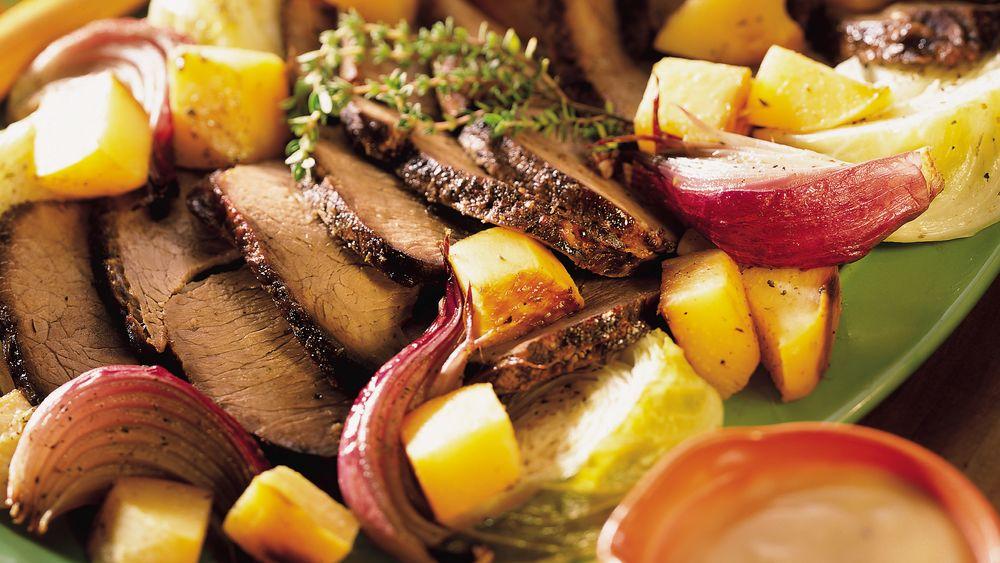 Rump Roast with Winter Vegetables