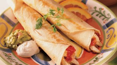Chicken and Cheese Flautas