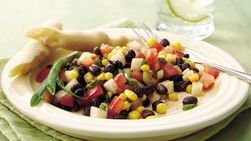 Black Bean Chili Salad