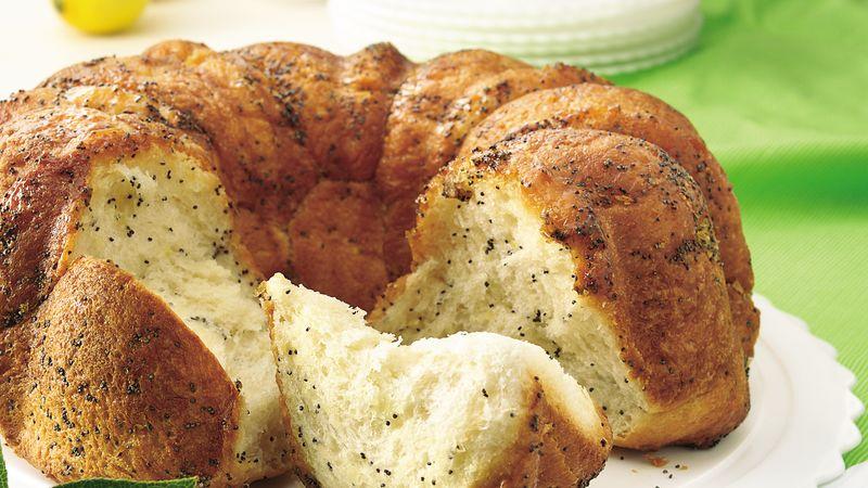 Lemon-Poppy Seed Pull-Apart Coffee Cake