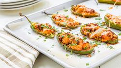 Jalapeños Stuffed with Shrimp and Chorizo