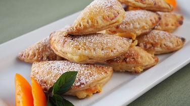 Empanaditas Dulces de Cheesecake y Albaricoques