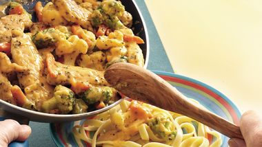 Cheesy Chicken and Vegetables